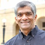 Headshot of J School Director Hemant Shah
