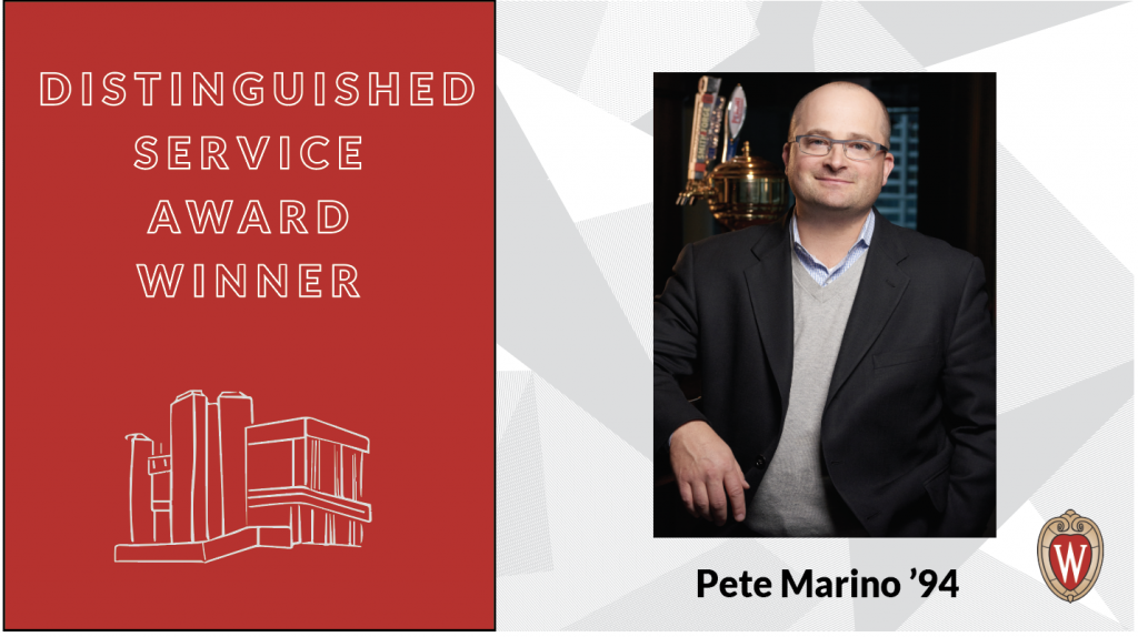 Distinguished Award Winner Pete Marino