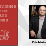 Distinguished Award Winner Pete Marino