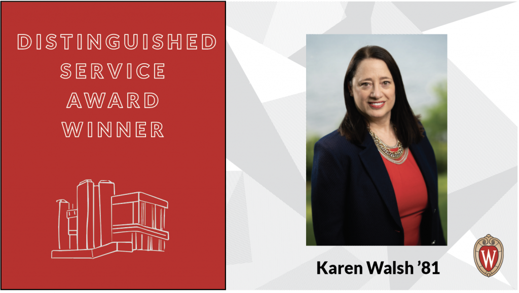 Distinguished Service Award Winner Karen Walsh