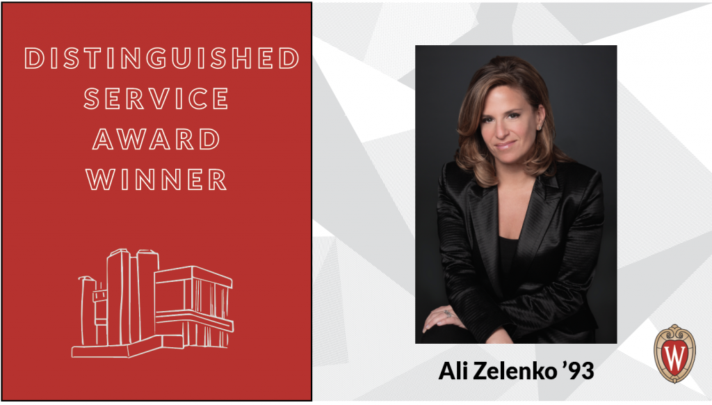 Distinguished Service Award winner Ali Zelenko