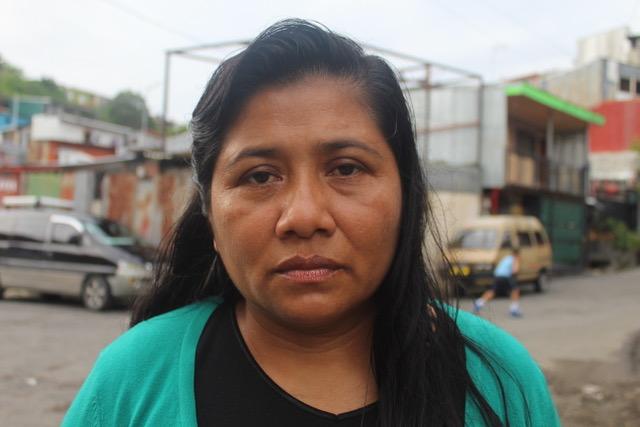 A portrait of Marisol Quezada, a Nicaraguan woman