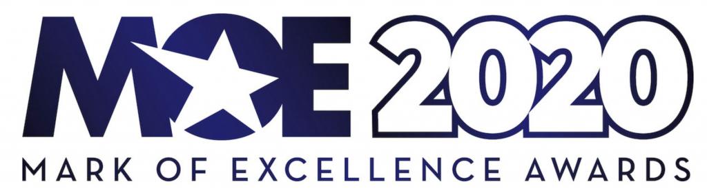 MOE 2020 Mark of Excellence Awards logo