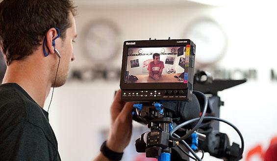 Student videographer