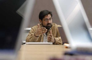 Dhavan Shah, professor of journalism and mass communications and political science.